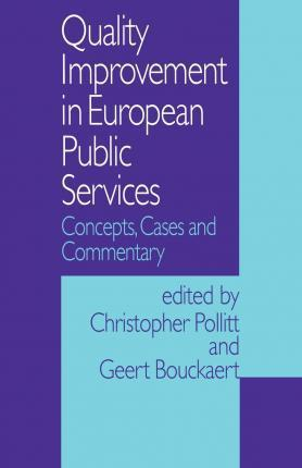 Quality Improvement in European Public Services