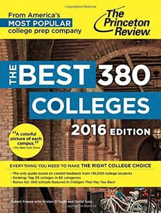 The Best 379 Colleges, 2016 Edition