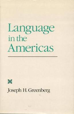 Language in the Americas