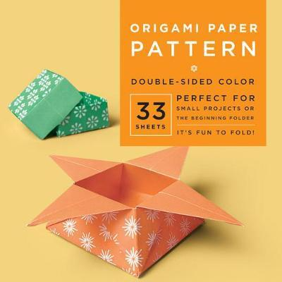 "Origami Paper - Pattern - 6 3/4"" - 33 Sheets : Tuttle Origami Paper: High-Quality Origami Sheets Printed with 4 Different Designs: Instructions for 6 Projects Included"