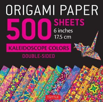 "Origami Paper 500 Sheets Kaleidoscope Patterns 6"" (15 CM)"