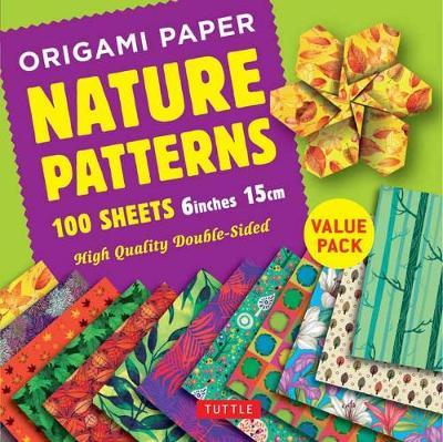 Origami Paper 100 Sheets Nature Patterns 6 Inch 15 Cm