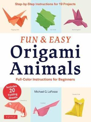 Fun with Origami book 4 with stickers