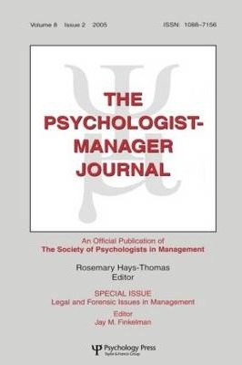 Legal And Forensic Isssues In Management Tpmj V8#2