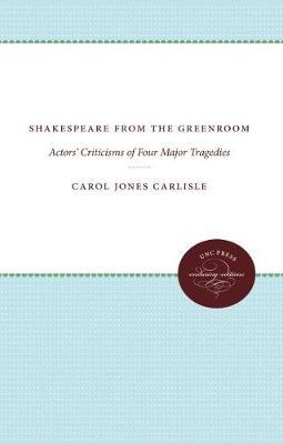Shakespeare from the Greenroom