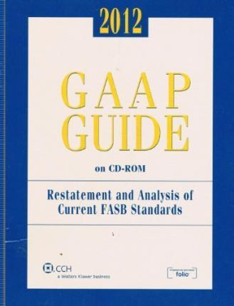 GAAP Guide on CD-ROM, 2012 (Standalone CD)