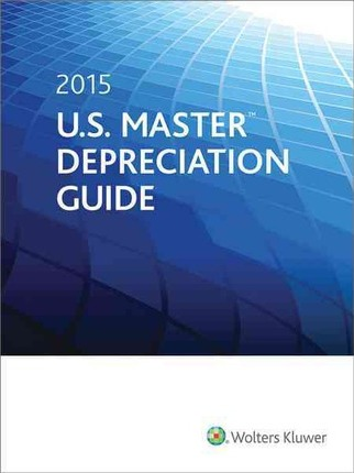Us Master Depreciation Guide 2015 Cch Tax Law 9780808039020