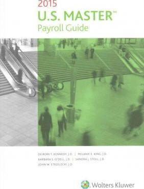 U. S. Master payroll guide: 2018 edition, paperback by wolters.