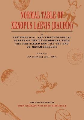 Normal Table of Xenopus Laevis (Daudin): a Systematical and Chronological Survey of the Development from the Fertilized Egg Till the End of Metamorphosis