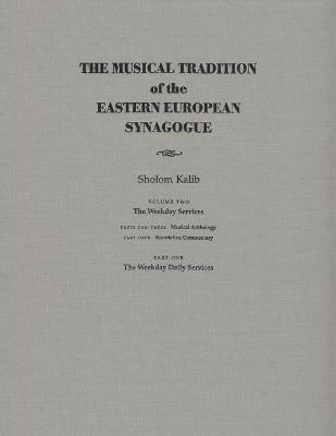Musical Tradition of the Eastern European Synagogue