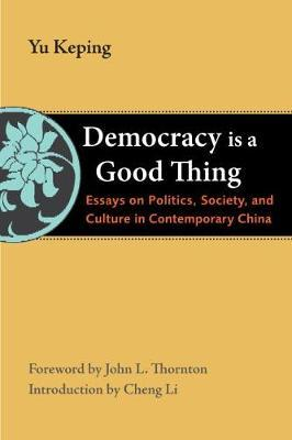 Democracy Is a Good Thing: Essays on Politics, Society, and Culture in Contemporary China