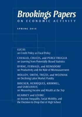Brookings Papers on Economic Activity: Spring 2016