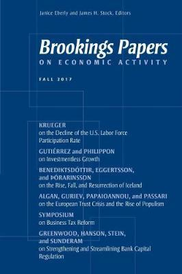 Brookings Papers on Economic Activity