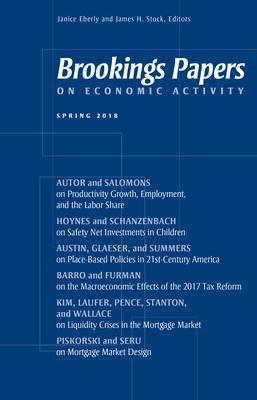 Brookings Papers on Economic Activity: Spring 2018