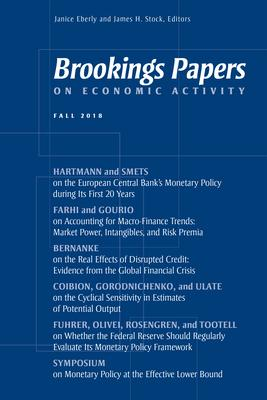 Brookings Papers on Economic Activity: Fall 2018