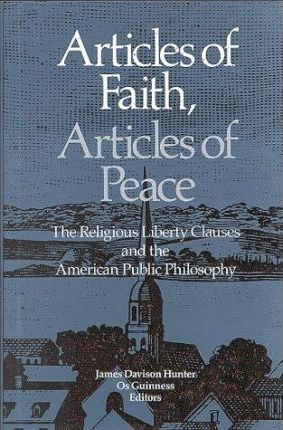 Articles of Faith, Articles of Peace