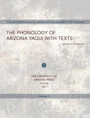 Phonology of Arizona Yaqui with Texts