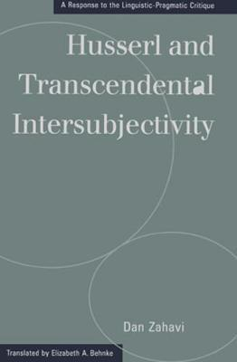 Husserl and Transcendental Intersubjectivity