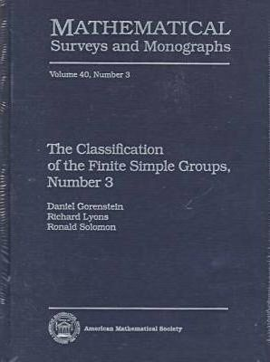 The Classification of the Finite Simple Groups No. 3