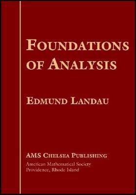 Foundations of Analysis