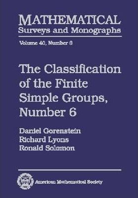 The Classification of the Finite Simple Groups No. 6: Part IV, Special Odd Case