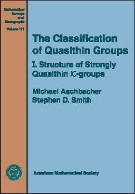 The Classification of Quasithin Groups, Volume 1; Structure of Strongly Quasithin $K$-groups