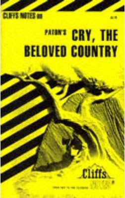 """Notes on Paton's """"Cry, the Beloved Country"""""""