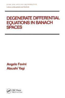 Degenerate Differential Equations in Banach Spaces