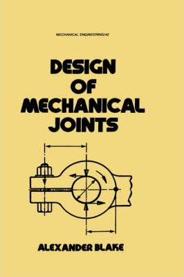 Design of Mechanical Joints