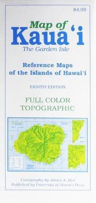 Map of Kauai the Garden Isle : Reference Maps of the Islands of Hawaii