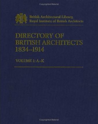 Directory of British Architects