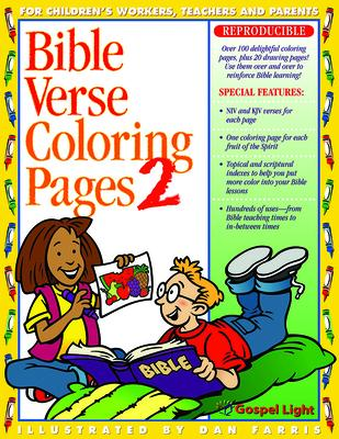 Bible Verse Coloring Pages No 2 Gospel Light 9780830725854