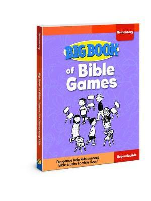 big book of bible games for elementary kids david c cook