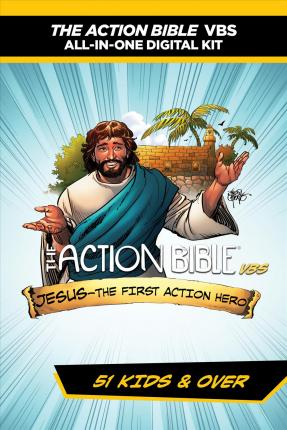 The Action Bible Vbs All-In-One Digital Kit--51 Kids and Over  Jesus--The First Action Hero