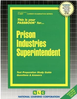 Prison Industries Industrial Supervisor
