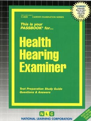 Health Hearing Examiner