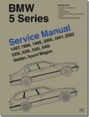 bmw 5 series e39 service manual 1997 2002 robert bently rh bookdepository com 1999 BMW 5 Series 2001 BMW 7 Series