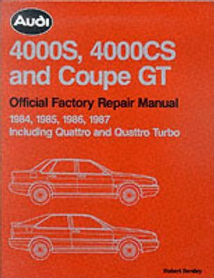 [DIAGRAM_38IS]  Audi 4000S, 4000CS and Coupe GT Official Factory Repair Manual 1984-1987 :  Audi of America : 9780837603735 | 1984 Audi Quattro Wiring Diagram |  | Book Depository