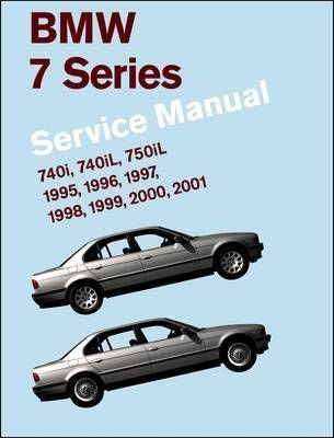 bmw 7 series service manual 1995 2001 e38 bentley publishers rh bookdepository com 1999 BMW 740iL Parts 1995 BMW 750iL