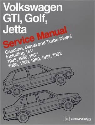 volkswagen gti golf jetta service manual 1985 1992 bentley rh bookdepository com volkswagen service manual volkswagen repair manual