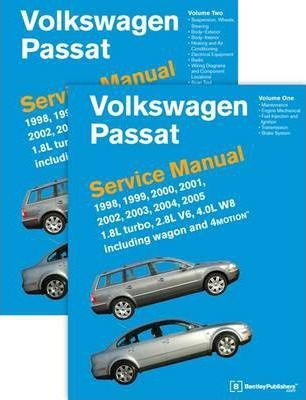 volkswagen passat service manual 1998 1999 2000 2001 2002 2003 rh bookdepository com passat 2002 user manual passat 2002 v6 manual