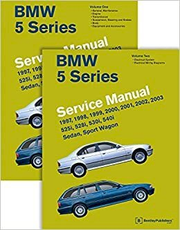 bmw 5 series service manual 1997 2003 e39 bentley publishers rh bookdepository com