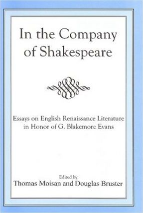 In The Company Of Shakespeare