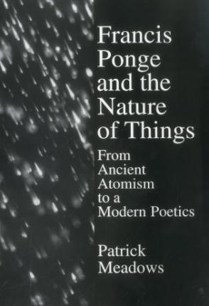 Francis Ponge Nature Of Things