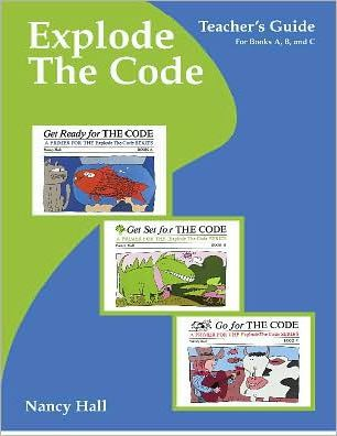 Explode the Code Teacher's Guide Books A, B, and C