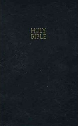 KJV, Gift and Award Bible, Imitation Leather, Black, Red Letter Edition