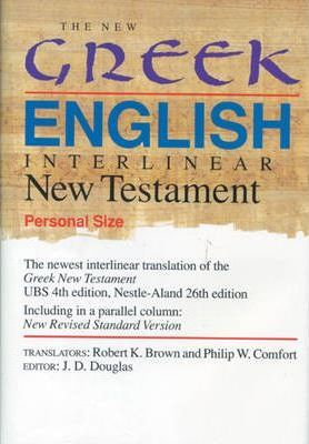 The New Greek-English Interlinear New Testament