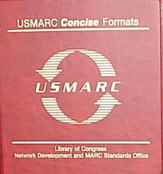 USMARC Concise Formats 1998