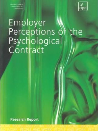 Employer Perceptions of the Psychological Contract