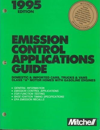 Emission Control Applications Guide, 1995